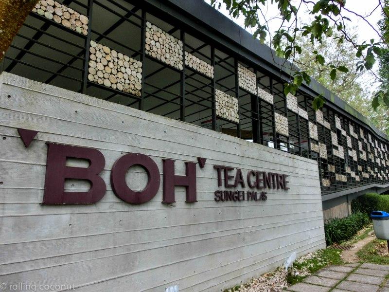 Sign BOH Tea Plantation Cameron Highlands Malaysia photo ooaworld Rolling Coconut