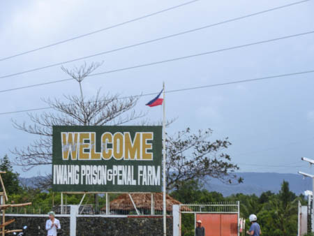Iwahig entrance philippines photo ooaworld Rolling Coconut