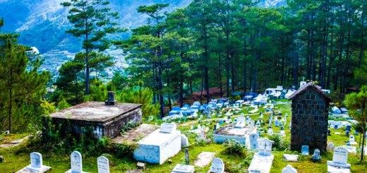 Cemetery Landscape, Sagada Philippines