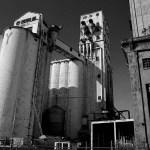 Texas, grain plant