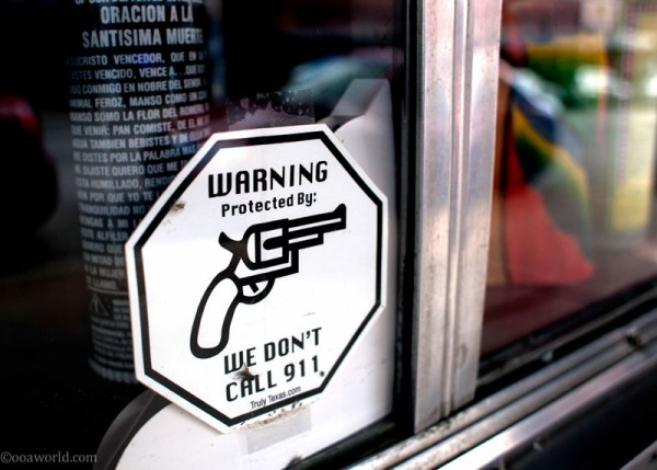 Don't call 911, Texas