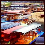 Yangshuo boats Instagram photo ooaworld