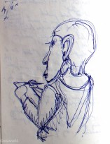 archaeology Travel Drawings: Road sketches, part 2 ooaworld photo