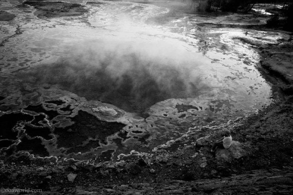 Yellowstone Park, Big Basin
