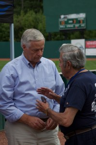 Commissioner Jerome Plante with Mike Michaud