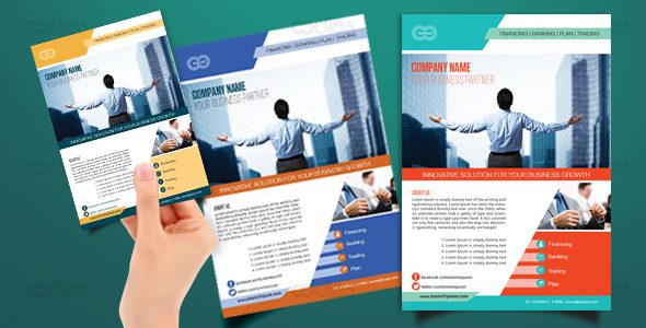 Direct marketing flyer template - oodlethemes