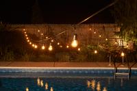 100 ft. Commercial Outdoor String Lights - Drop Socket