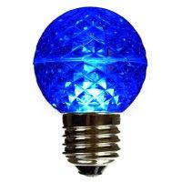 Blue LED Globe Light Bulb