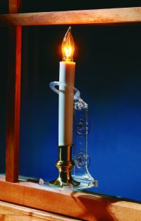 Solar Powered Window Candles Photo Album - Happy easter day