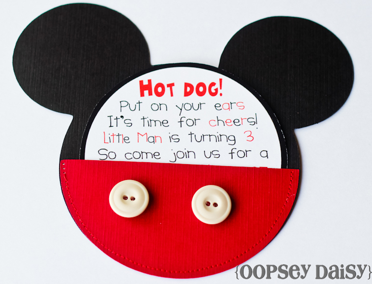 Mickey Mouse Birthday Party Oopsey Daisy - mickey mouse boy birthday party ideas