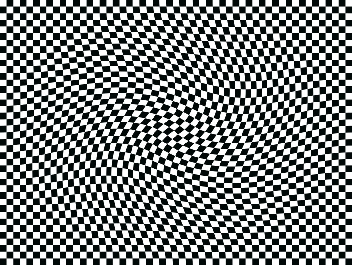 Hyperspace 3d Wallpaper Op Art Moving Squares One