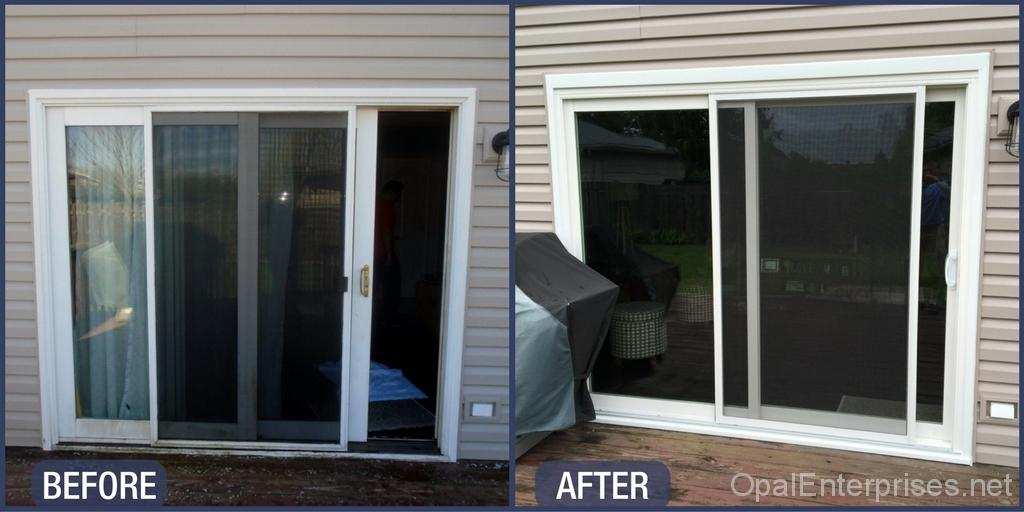 Home Improved With New Front Door Patio Door Soffit And