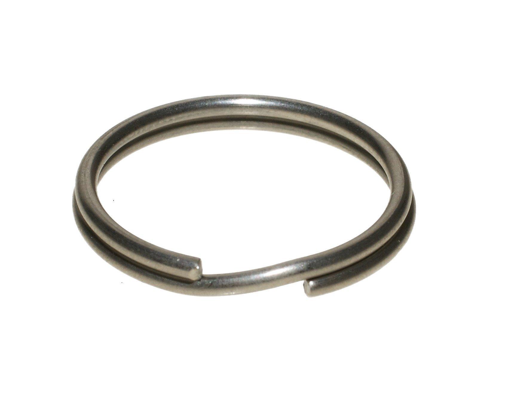 Split Key Ring Stainless Steel