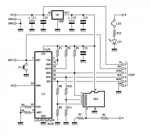 wireless sd shield arduino schematic