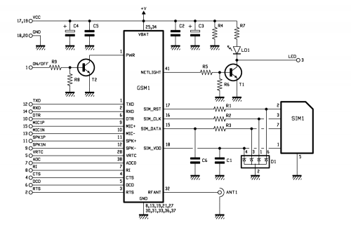 control input lines on off switching circuit diagram