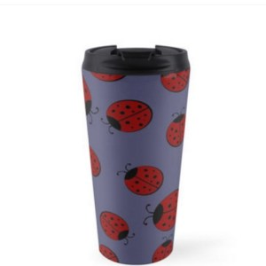 Ladybug Travel Cup Open Art