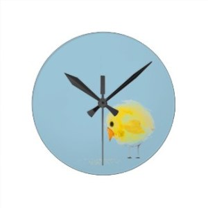 Chickie Wall Clock