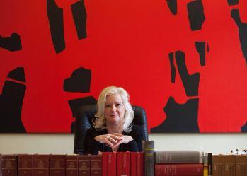 Gitte Stevens rood