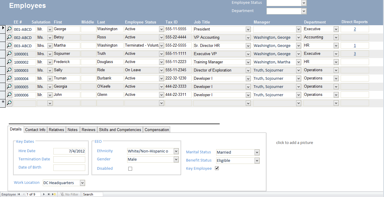 inventory microsoft access