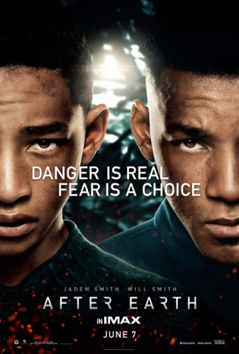 """Promotional poster for """"After Earth."""" (Credit: Columbia TriStar ..."""