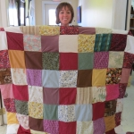 2013- audreys first quilt