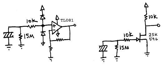 piezo speaker circuit