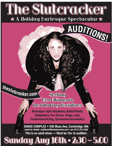 Slutcracker Auditions