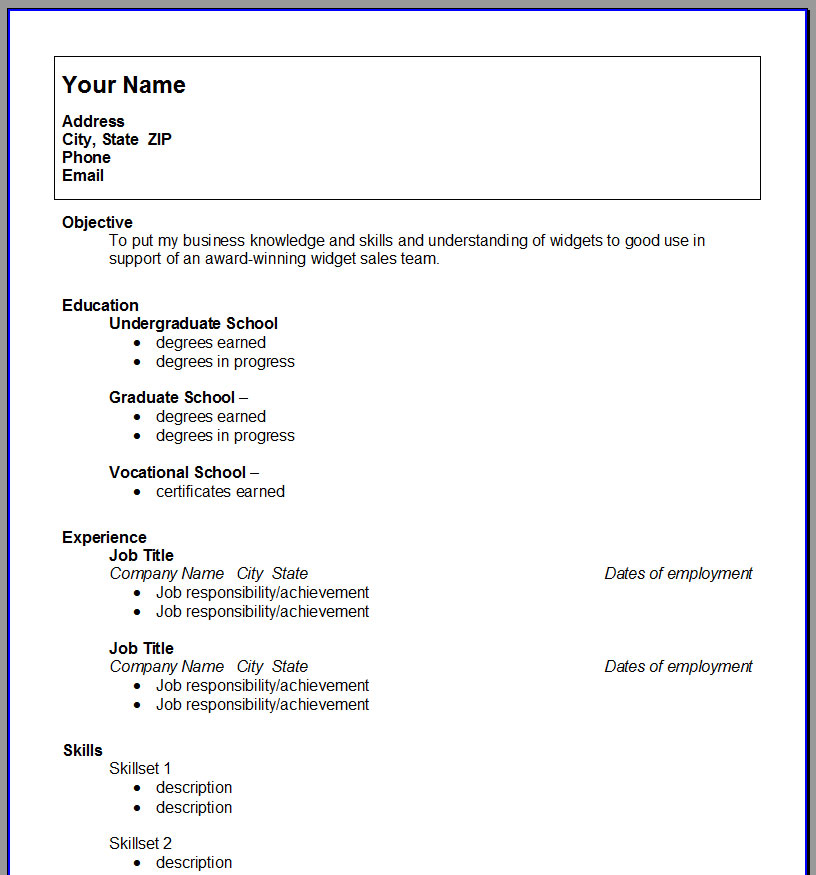 microsoft word resume templates 2012 resume template in microsoft word 2012 ebook database college student resume