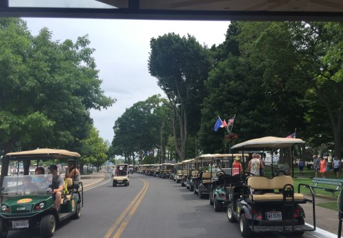 Put-In-Bay endless golf carts