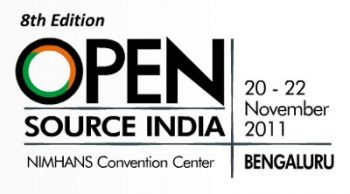 Open Source India 2011