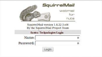 Figure 2 Squirrel mail