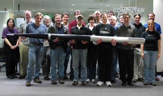 Figure 8: The PSAS community with it's LV2 rocket