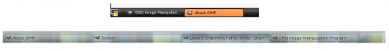 Figure 4:  A comparison of GNOME and KDE panel behaviour