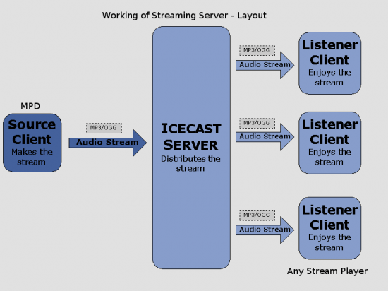Figure 1: An overview of the streaming server