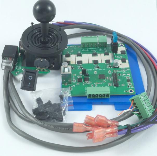 Joystick and Motor Controller Board - Open Wheelchair