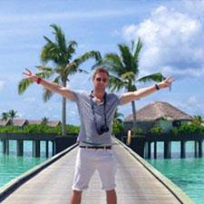Johnny Ward at Niyama Resort