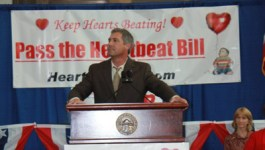 Operation Rescue Urges Ohio Gov. Kasich to Sign the Heartbeat Bill
