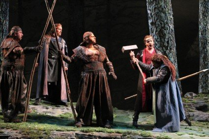 Seattle Opera's 2013 production of Wagner's The Ring: Das Rheingold
