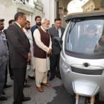 Solar, electric rickshaws to run in Peshawar soon