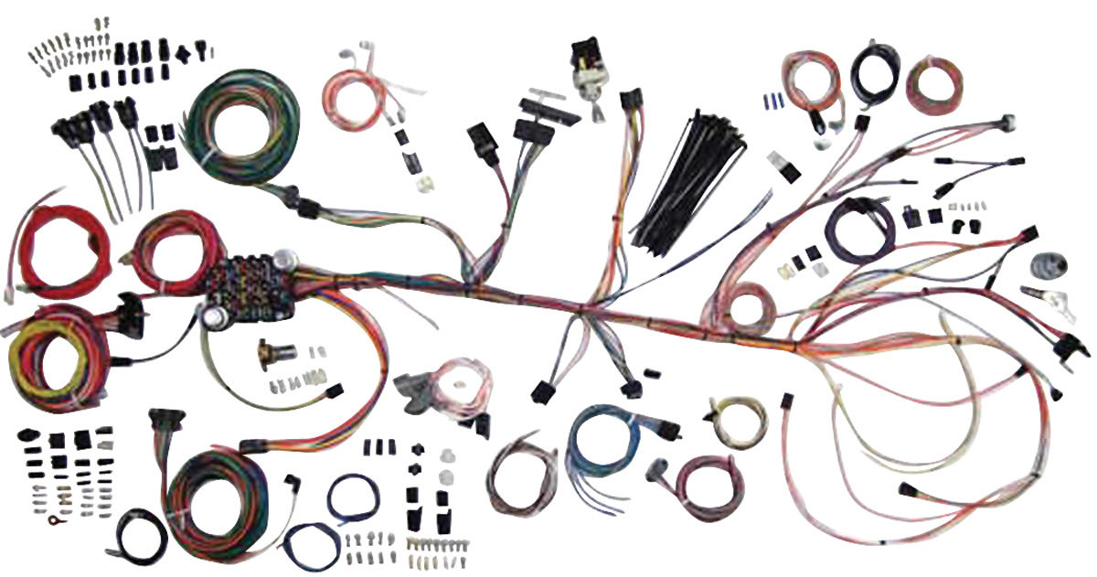 Complete Wiring Diagram 1966 Mustang American Autowire Chevelle Wiring Kit Classic Update Fits