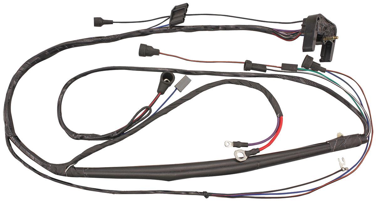 1973 gto wire harness