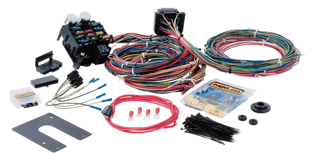 Painless Performance Wiring Harness, Muscle Car 21-circuit Classic