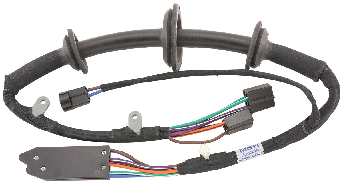 MH Power Window Harness - Driver Side Door Fits 1965 Cutlass/442