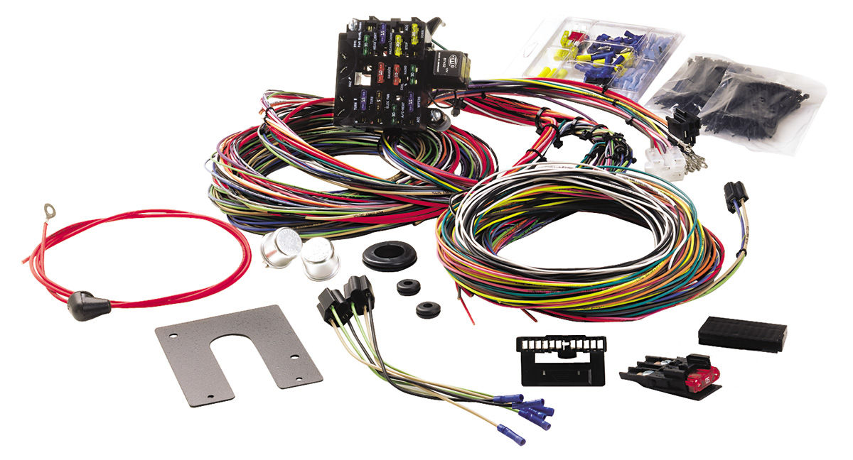 Painless Performance Wiring Harness 21-Circuit Classic non-GM keyed