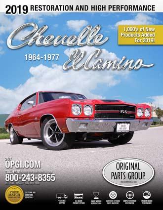 Free 1964-77 Chevelle/El Camino Restoration Parts Catalog @ OPGI