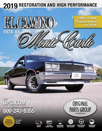 Free 1978-88 El Camino  Monte Carlo Parts Catalog @ OPGI