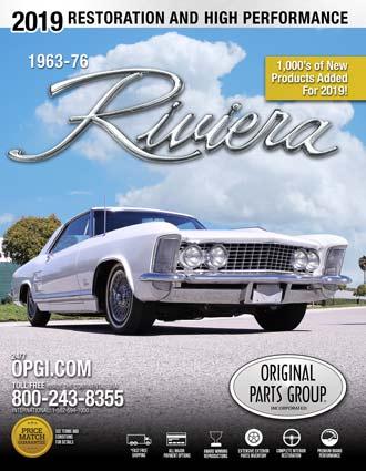Free 1963-1976 Riviera Restoration Parts Catalog @ OPGI