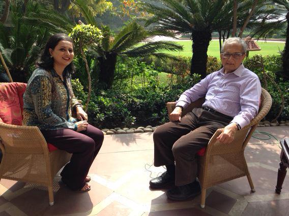 Sagarika Ghose & Amartya Sen: The Interview That Wasn't