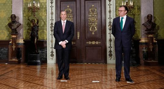 Finanzas del país, en buenas manos tras salida de Videgaray: Moreno Valle