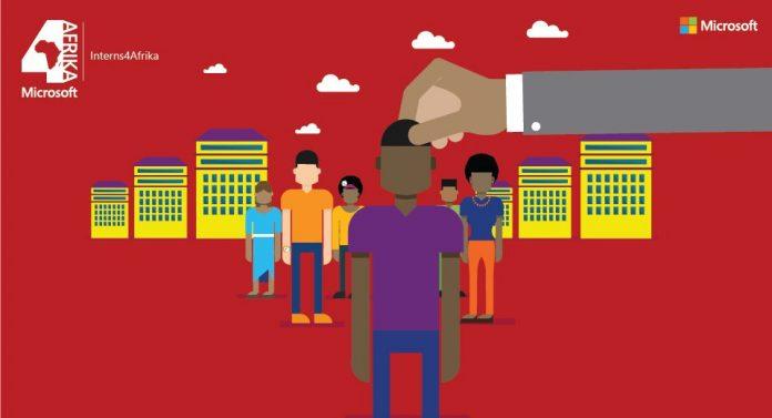 Microsoft Interns4Afrika Internship Programme 2017/18 for Young - interning at microsoft